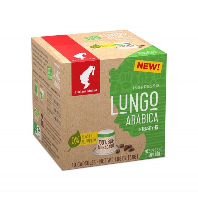 Capsules Lungo Arabica (Biodegrable) - 10 x 5.6g